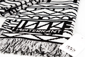 WK Scarf  AC02-black/white