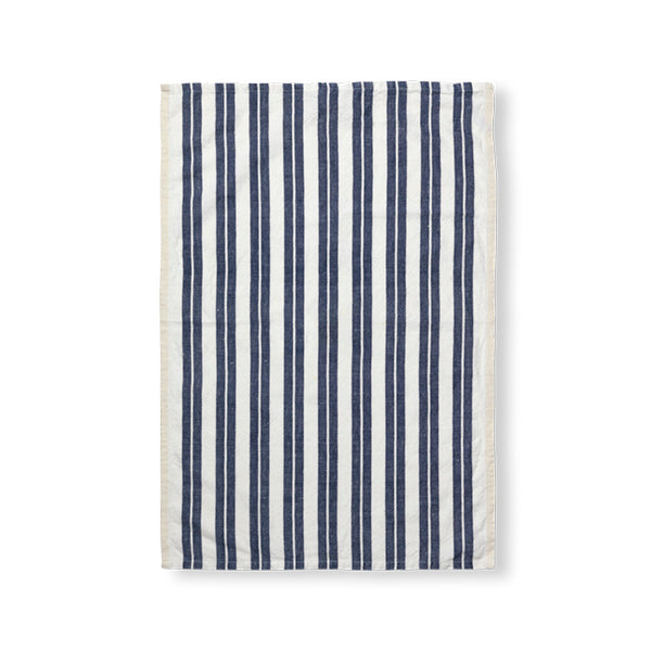 GESCHIRRTUCH - hale tea towel off-white/blue von fermLiving