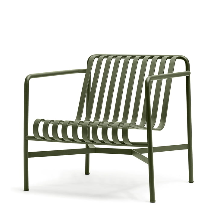 STUHL - pallisade lounge chair low (outdoor)