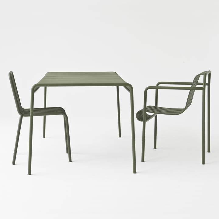 TISCH - pallisade table (outdoor)