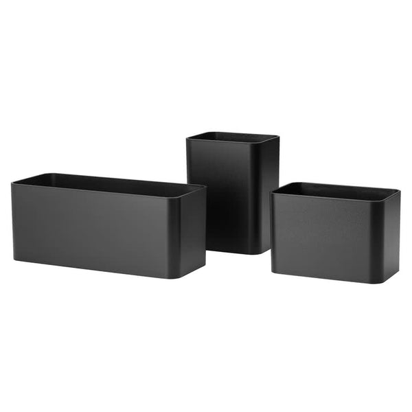 ORGANIZERS, schwarz (set of 3)