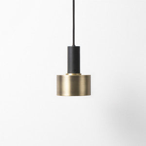 LAMPENSCHIRM DISC SHADE brass