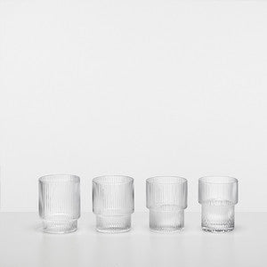 GLAS - ripple (set of 4)