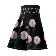 Load image into Gallery viewer, Dahlia Floral Women's Skater Skirt