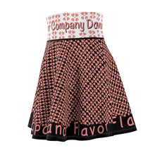 Load image into Gallery viewer, Flavor Heart Women's Skater Skirt