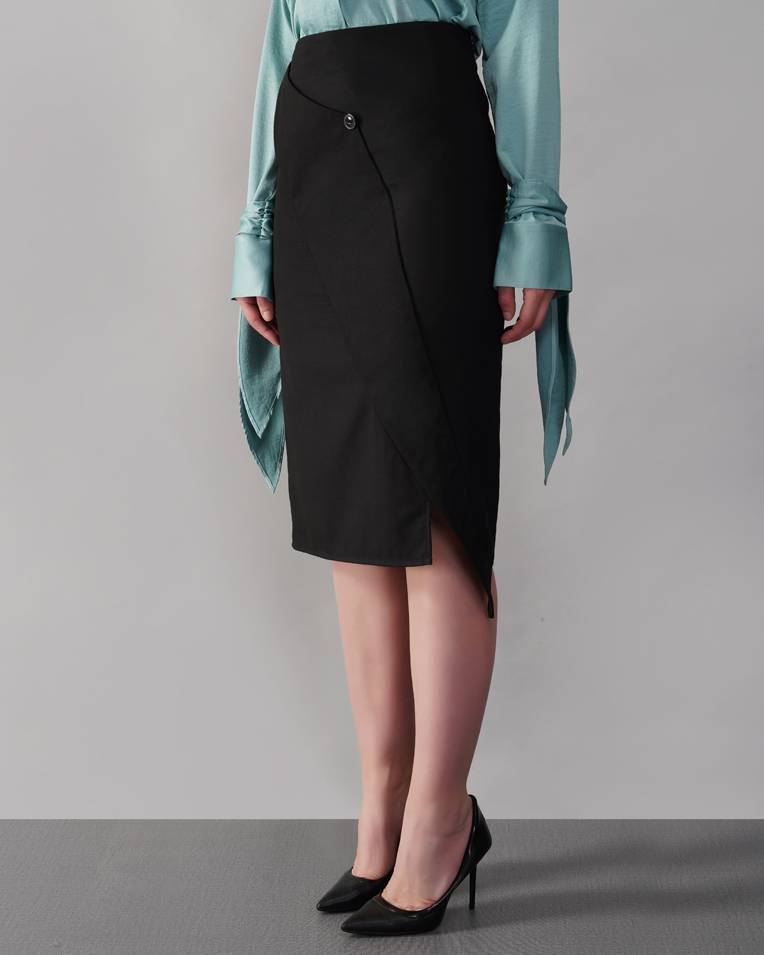 High Seas Pencil Skirt