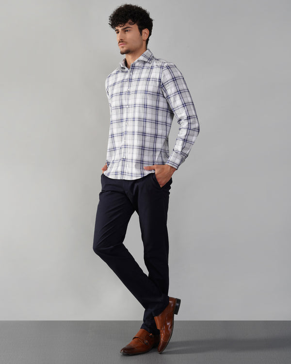 Engineered Striped Cotton shirt