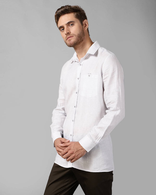 Linen Regular Fit Summer Shirt
