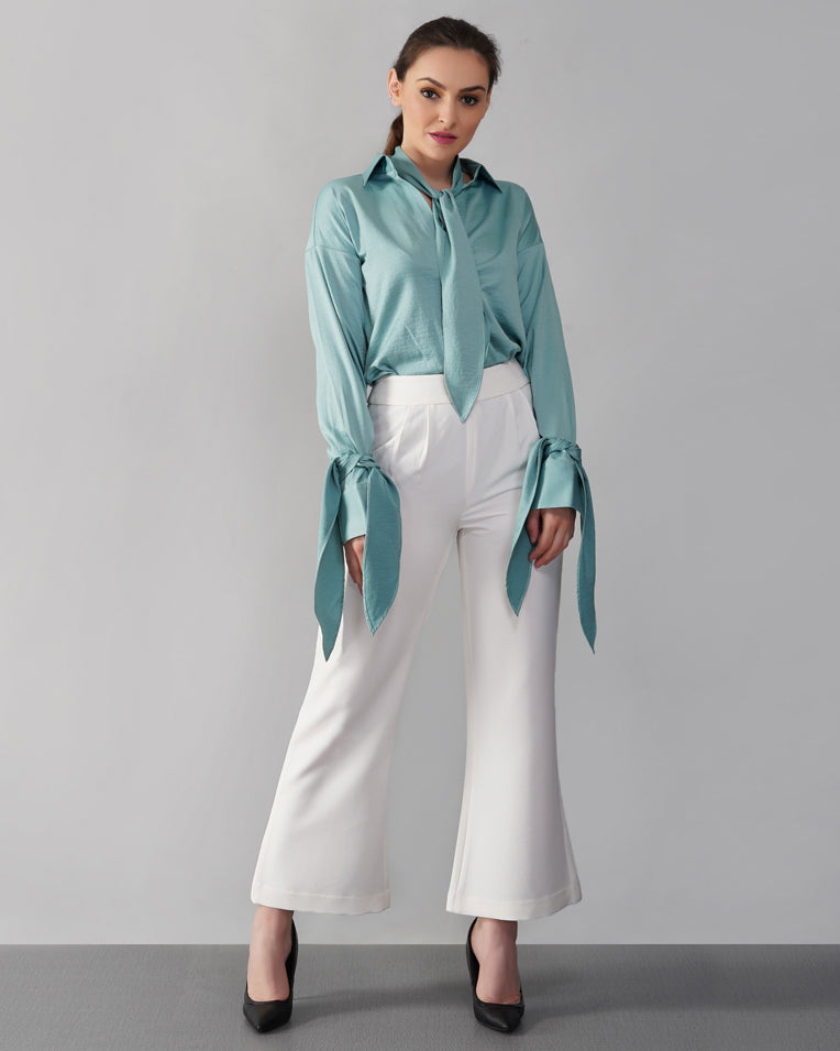 Pleated Waist Pants