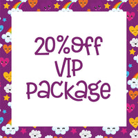 20% off VIP Package
