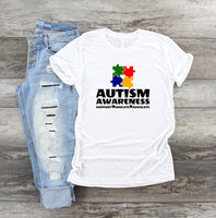 Autism Awareness Sublimation Transfer AS013