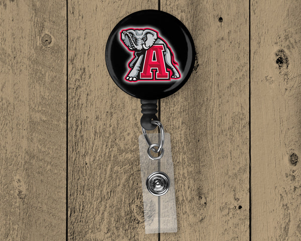 Alabama Football Retractable Badge Reel