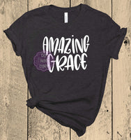Amazing Grace Screenprint Transfer A11