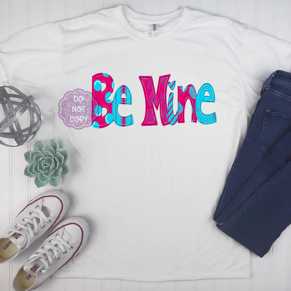 Be Mine Sublimation Transfer BMP248