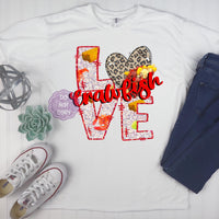 Crawfish Love Sublimation Transfer BMP817