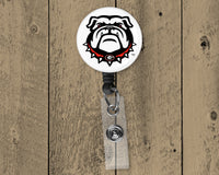 Georgia Football Retractable Badge Reel