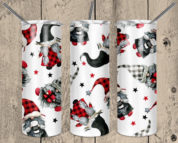 Coffee Gnomes 20 oz Double Walled Insulated Tumbler