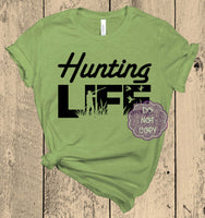 Hunting Life Screenprint Transfer (AB-1)