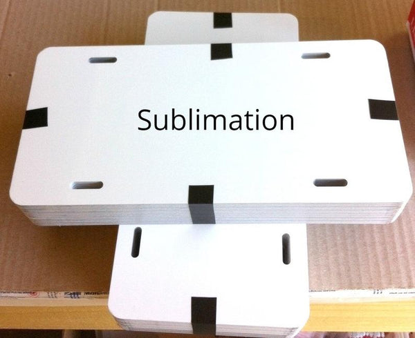 Blank Sublimation License Plate