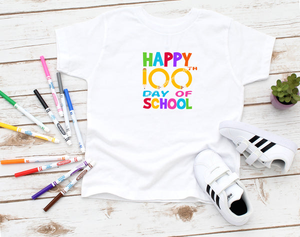 100 Days of School Sublimation Transfer MS019