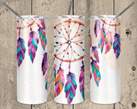 Dream Catcher 20 oz Double Walled Insulated Tumbler. NNT009