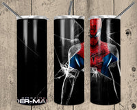 Amazing Spiderman 20 oz Double Walled Insulated Tumbler. NNT020
