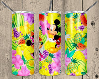 Mickey and Minnie 20 oz Double Walled Insulated Tumbler. NNT026