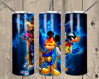 Mickey Superhero 20 oz Double Walled Insulated Tumbler. NNT027
