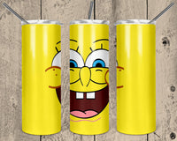 Spongebob 20 oz Double Walled Insulated Tumbler. NNT109