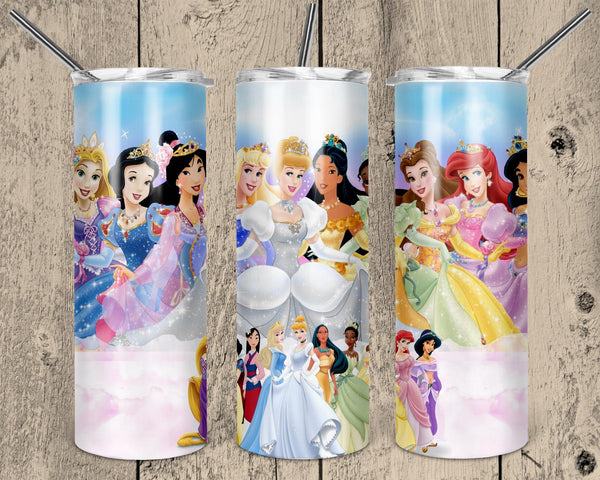 Princesses 20 oz Double Walled Insulated Tumbler. NNT120