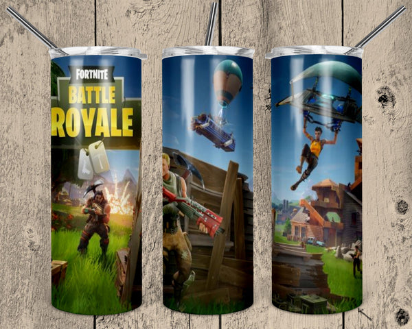 Battle Royale 20 oz Double Walled Insulated Tumbler. NNT 135