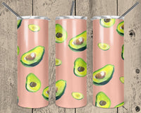 Avocados 20 oz Double Walled Insulated Tumbler. NNT 149