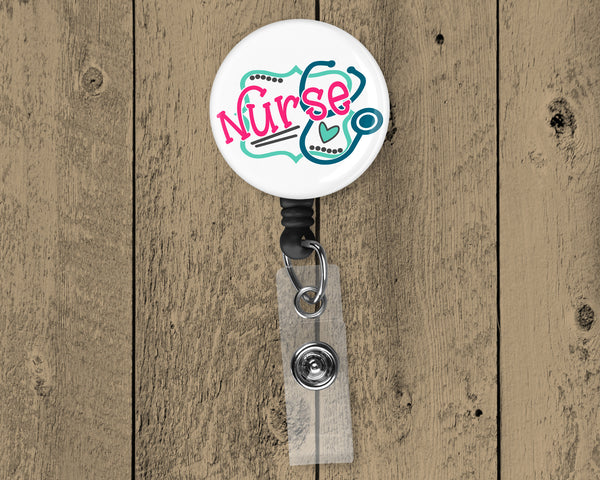Nurse Retractable Badge Reel  OSG277BR