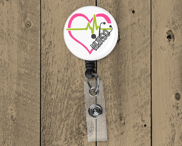 Nurse Retractable Badge Reel  OSG279BR