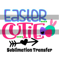 Easter Cutie Sublimation Transfer OSG588