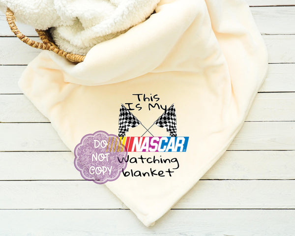 NASCAR Watching Blanket Sublimation Transfer     RBD002