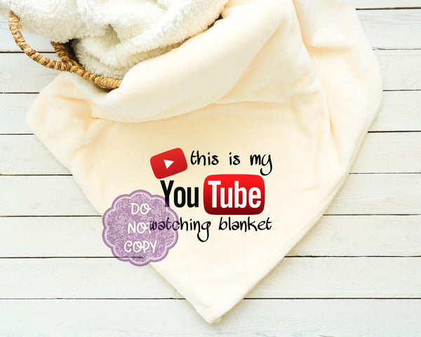 You Tube Watching Blanket Sublimation Transfer     RBD019