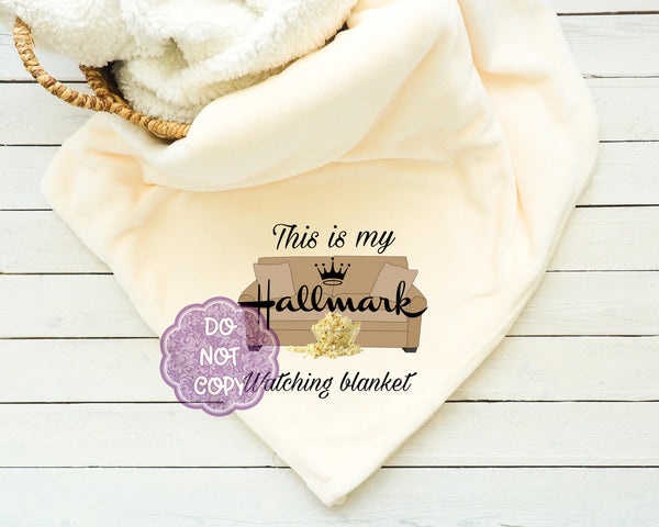 Hallmark Watching Blanket Sublimation Transfer     RBD036