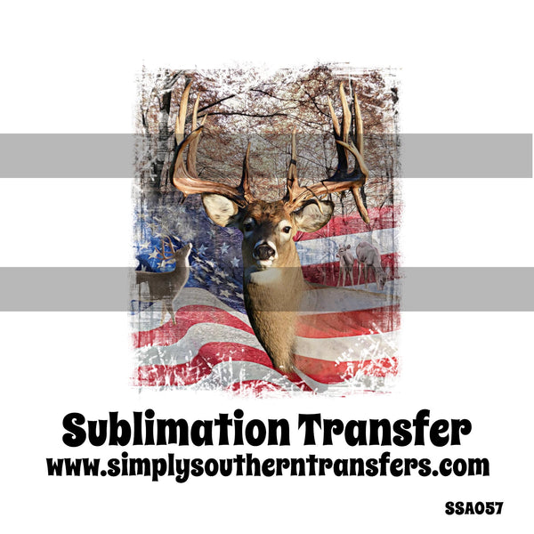 Buck Sublimation Transfer SSA057