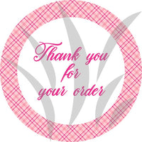 Pretty in Pink Stickers   STICK008
