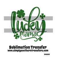 Lucky Mama Sublimation Transfer SVG020