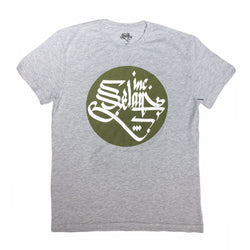 Selam Inc. Basic T-Shirt (Grey/Green)