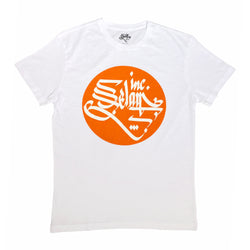 Selam Inc. Basic T-Shirt (White/Orange)