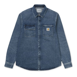 Carhartt - Salinac Shirt Jacket (Blue Mid Worn Wash)