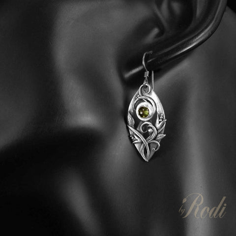 Esprit – Custom Made Silver Earrings-Earrings-Sky And Beyond Jewelry By Rodi