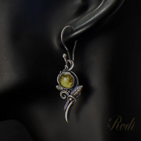 Harmony – Custom Made Silver Earrings-Earrings-Sky And Beyond Jewelry By Rodi