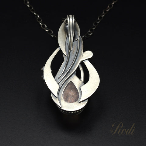 Heavens Path – Custom Made Silver Pendant-Pendant-Sky And Beyond Jewelry By Rodi