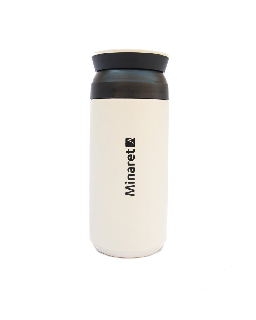 Cream Thermal Travel Mug
