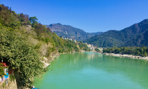 Ganges Fluss in Rishikesh