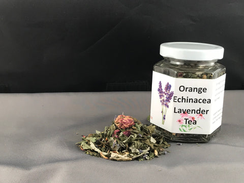 Tea, Orange Echinacea Lavender